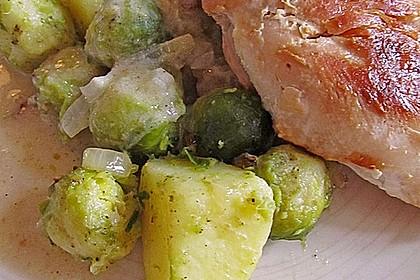 Kartoffel-Rosenkohl-Pfanne 16