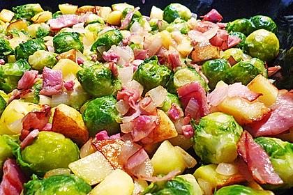 Kartoffel-Rosenkohl-Pfanne 5