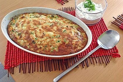 Gemüse - Soufflé 2