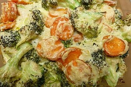 Gemüse - Soufflé 6