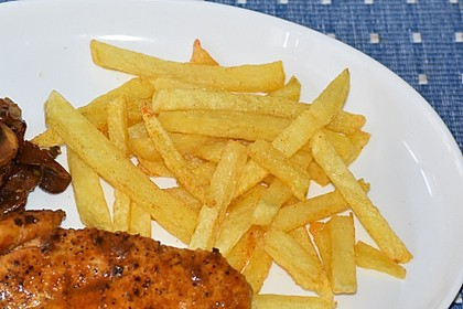 Perfekte Pommes frites 20