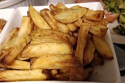 Perfekte Pommes frites 24