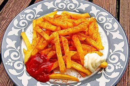 Perfekte Pommes frites 1