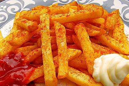 Perfekte Pommes frites 2