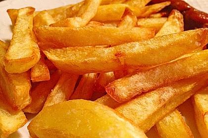 Perfekte Pommes frites 9