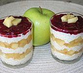 Apfel - Preiselbeer - Milchreis (Bild)
