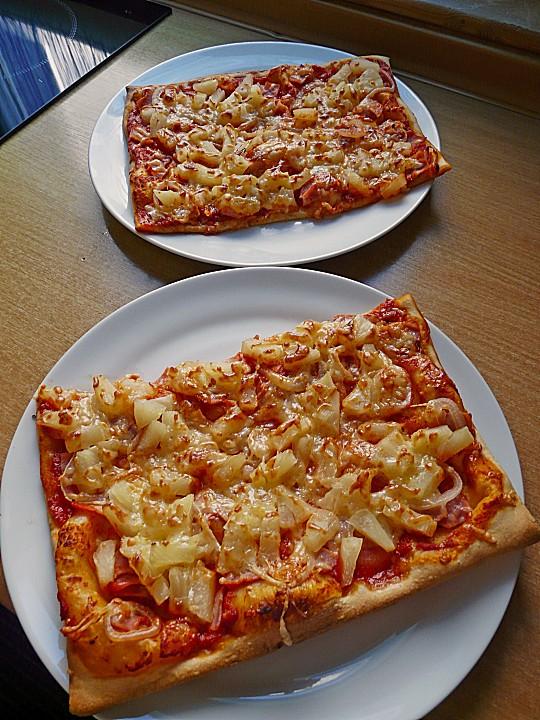 Pizza Hawaii Von Minnieh Chefkochde