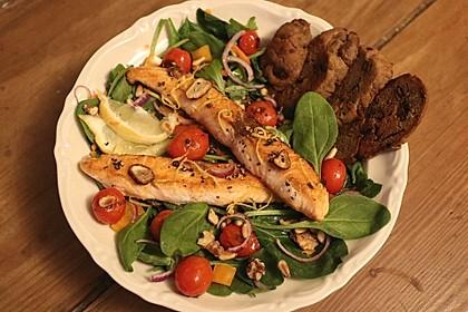 Spinat - Bärlauch - Salat