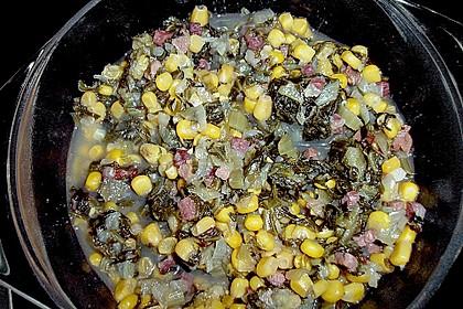Zuckerhut  - Gemüsebeilage mit Mais 2