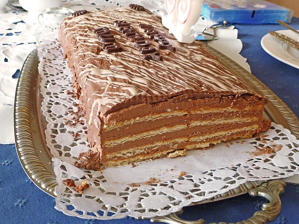 Butterkekskuchen Mit Mascarpone Chefkoch De