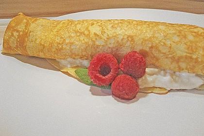 Süße Pfannkuchenschnecken 2