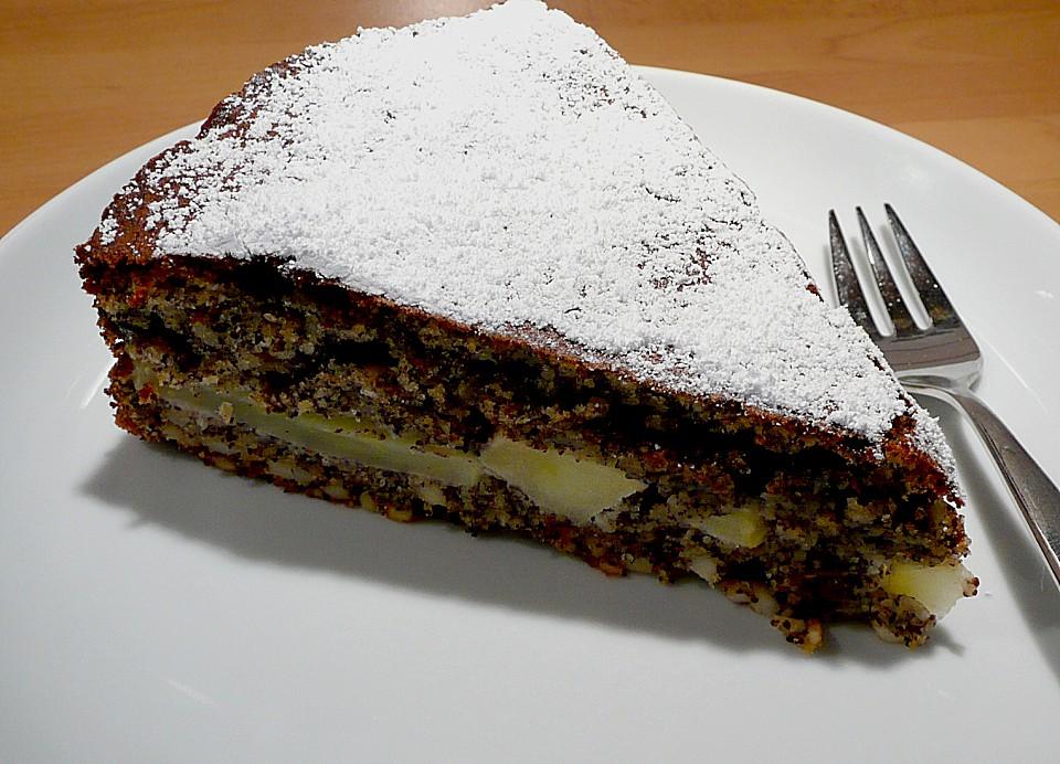 Runis Apfel Mohn Kuchen Von Plumbum Chefkoch De