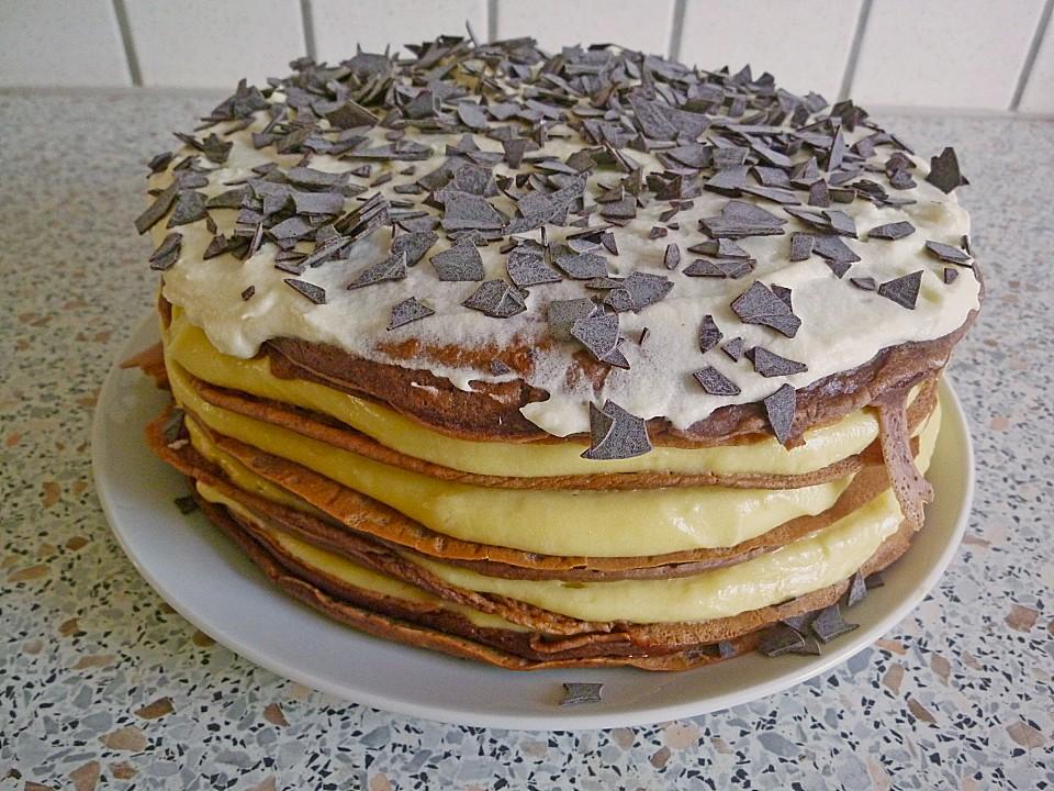 Pfannkuchentorte Ein Sehr Leckeres Rezept Chefkoch De