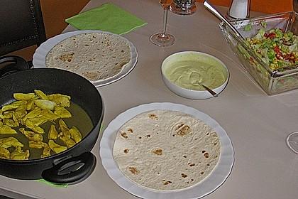 Curry - Frischkäse - Wrap 4