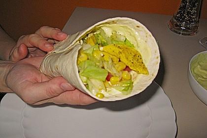 Curry - Frischkäse - Wrap 2