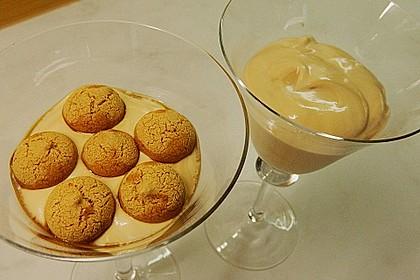 Mascarpone-Kaffeecreme mit Amaretti 20