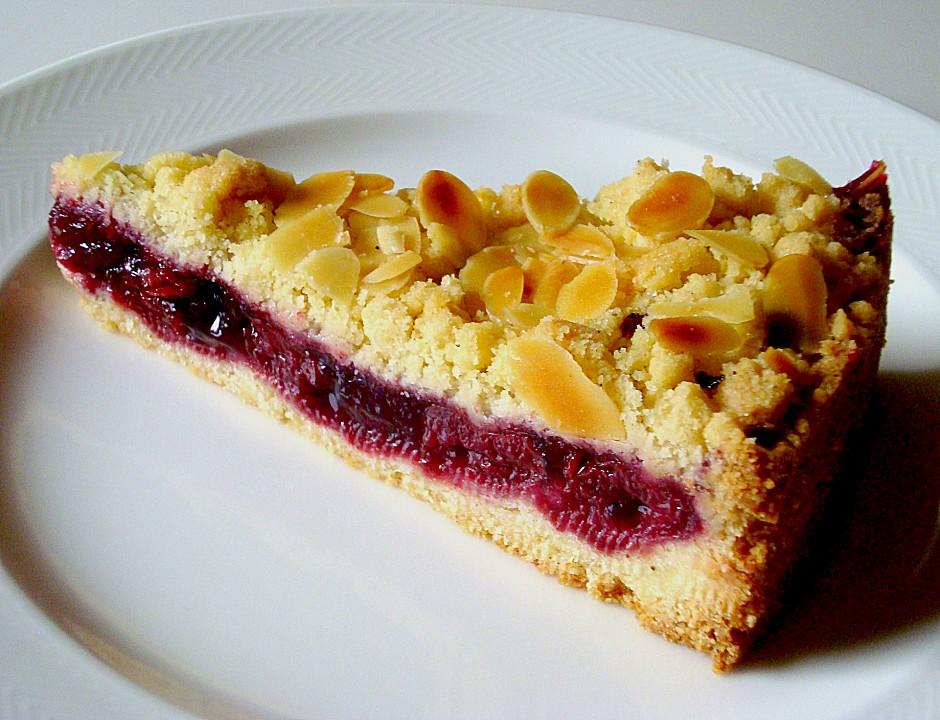 Streusel Kirsch Kuchen Von Ulrikem Chefkoch De