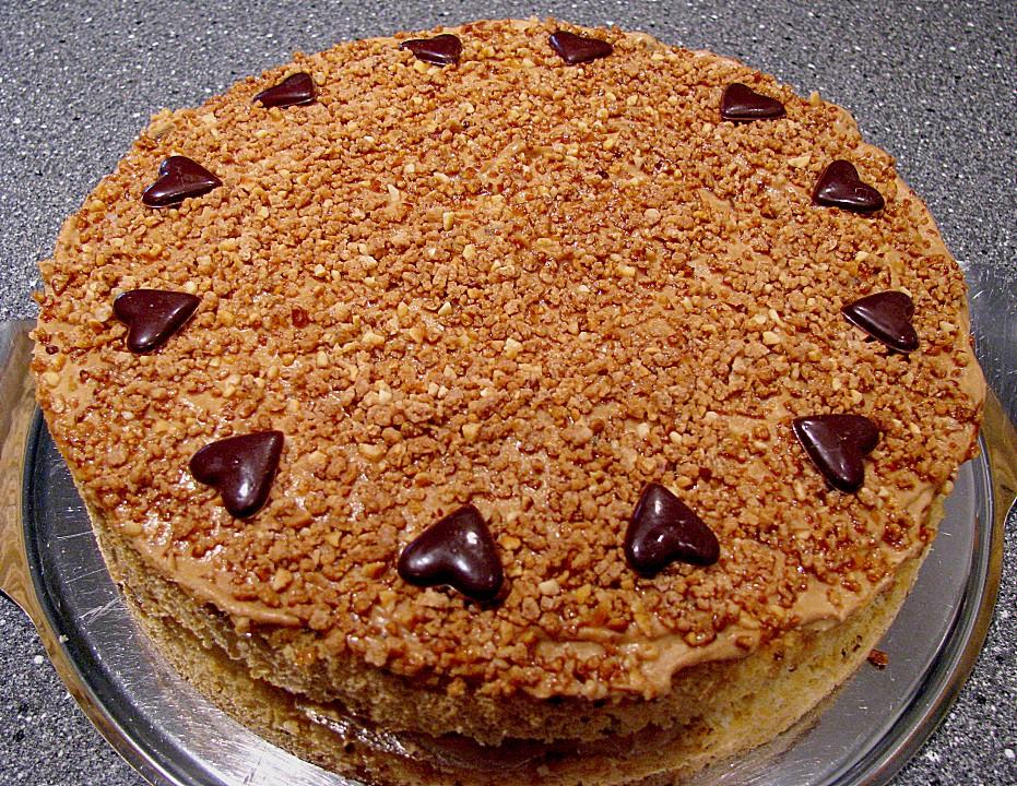 Karamell Kaffee Torte Von Wermut Chefkoch De