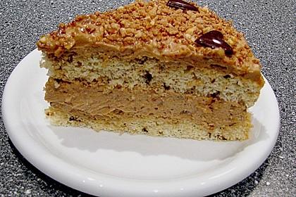 Karamell - Kaffee - Torte 6