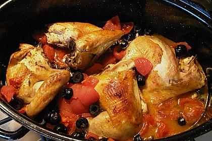 Italienisches Huhn 1