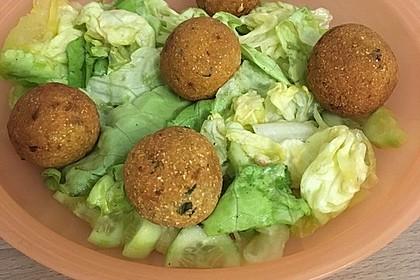 Falafel aus Kichererbsenmehl 4