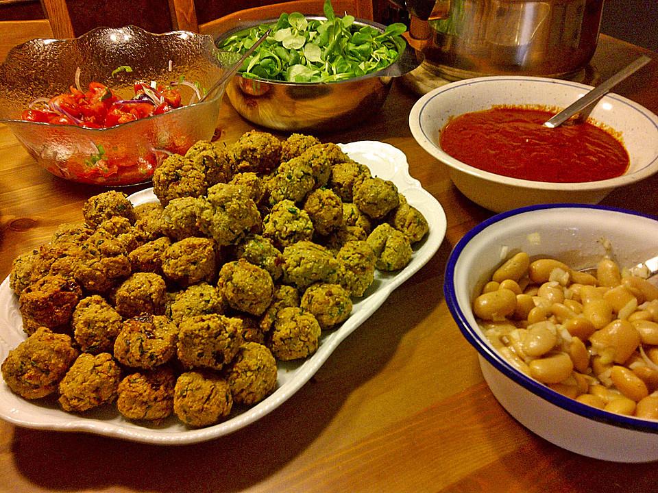 Falafel Aus Kichererbsenmehl Von Yu8fushe Chefkoch