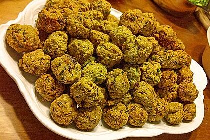 Falafel aus Kichererbsenmehl 8