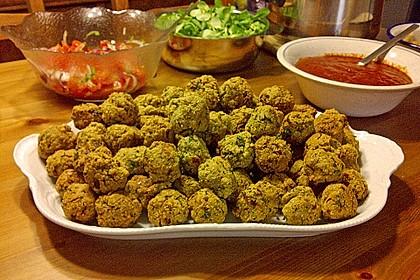 Falafel aus Kichererbsenmehl 1