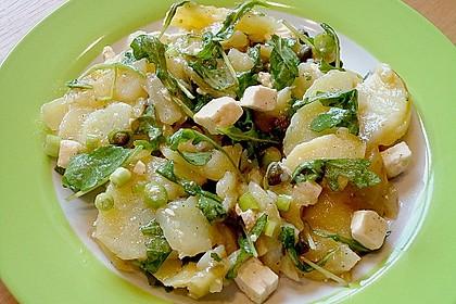 Kartoffelsalat mit Rucola und Schafskäse 5