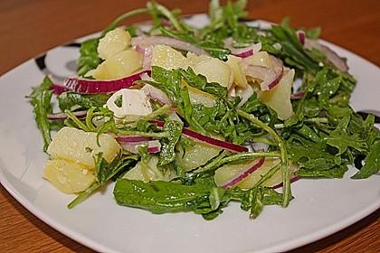 Kartoffelsalat mit Rucola und Schafskäse 1