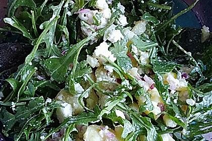 Kartoffelsalat mit Rucola und Schafskäse 23