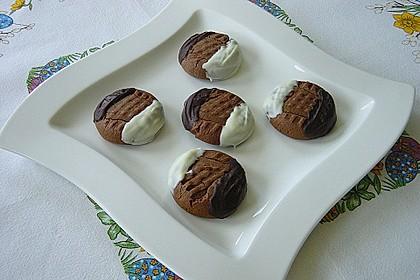Erdnussbutter - Schokoladenkekse 1