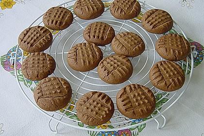 Erdnussbutter - Schokoladenkekse 4