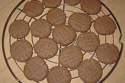 Erdnussbutter - Schokoladenkekse 9