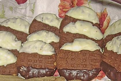 Erdnussbutter - Schokoladenkekse 14