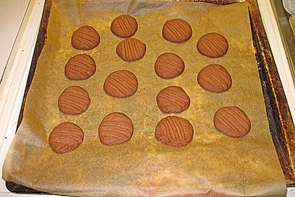Erdnussbutter - Schokoladenkekse 12