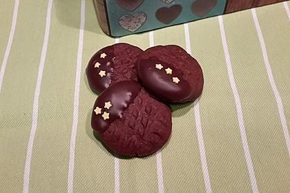 Erdnussbutter - Schokoladenkekse