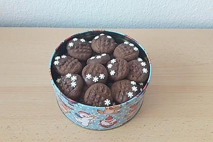 Erdnussbutter - Schokoladenkekse 5