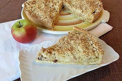 Ultra saftiger Apfelkuchen mit Streuseln