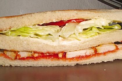 Hähnchen - Sandwich