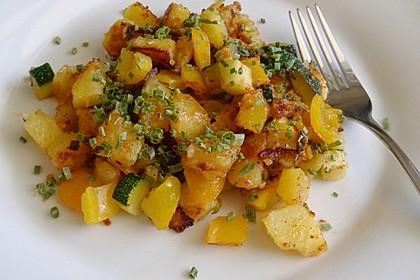 Bratkartoffeln mit Paprika 9