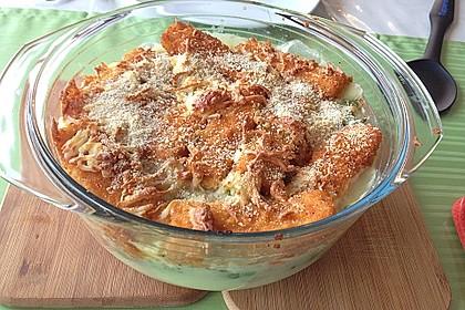 Schneller  Brokkoli - Kartoffel - Auflauf mit Fischstäbchen 2