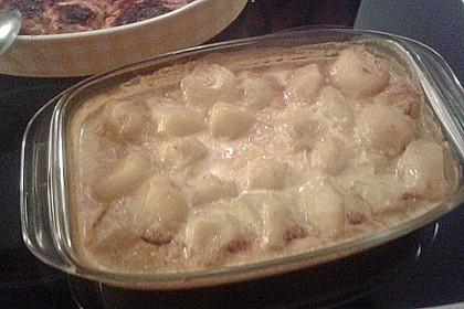Ofenkartoffeln mit Currysahne