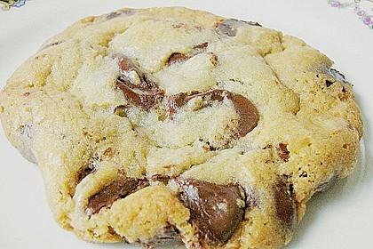 Knusprige Chocolate - Cookies (Bild)