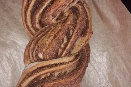 Nusszopf (Rezept von einem Bäckermeister) 37