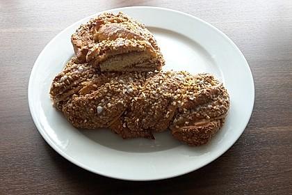 Nusszopf (Rezept von einem Bäckermeister) 17