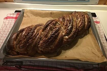Nusszopf (Rezept von einem Bäckermeister) 27
