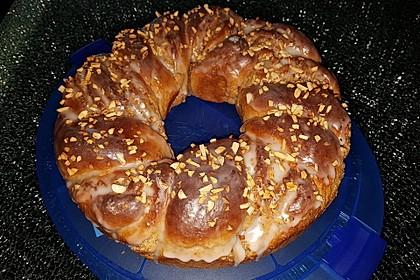 Nusszopf (Rezept von einem Bäckermeister) 21