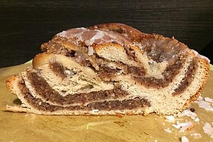 Nusszopf (Rezept von einem Bäckermeister) 20
