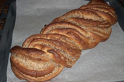 Nusszopf (Rezept von einem Bäckermeister) 16